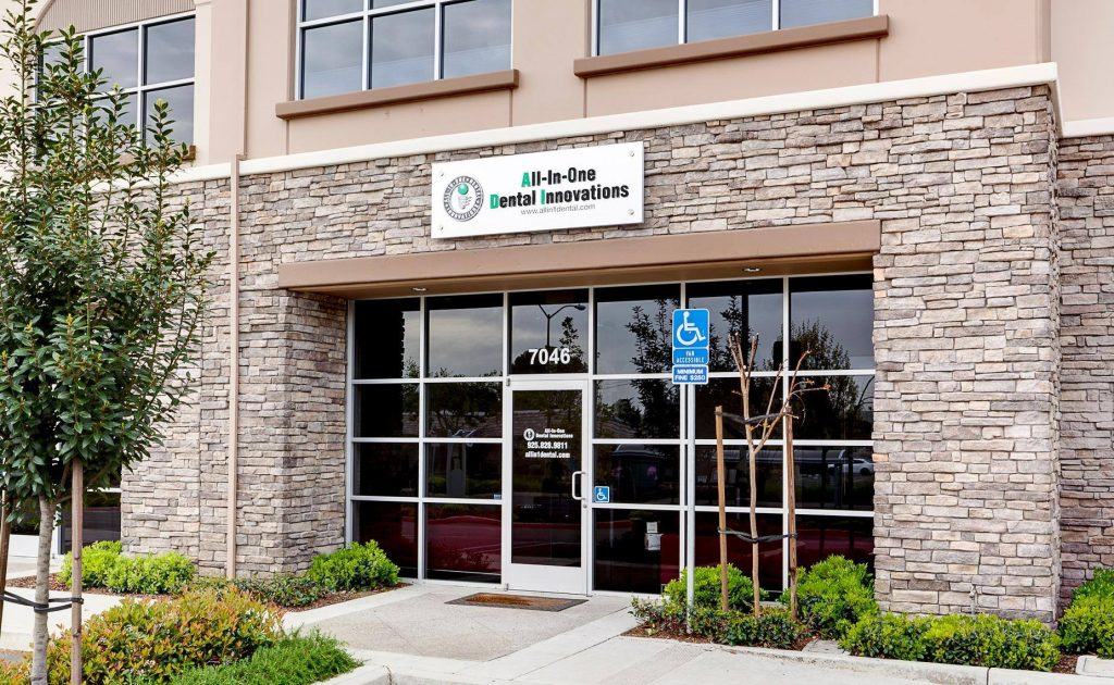 Exterior of our dentist office near Livermore