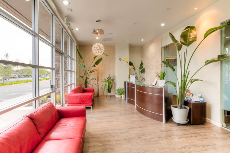 Our dental office lobby in Livermore