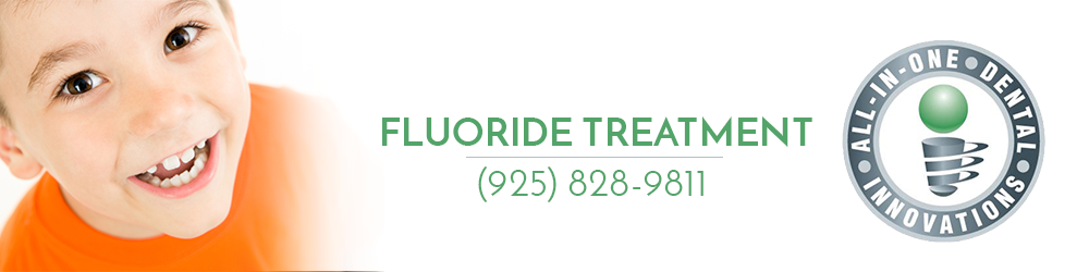 All In One Dental offers Fluoride Treatment for kids